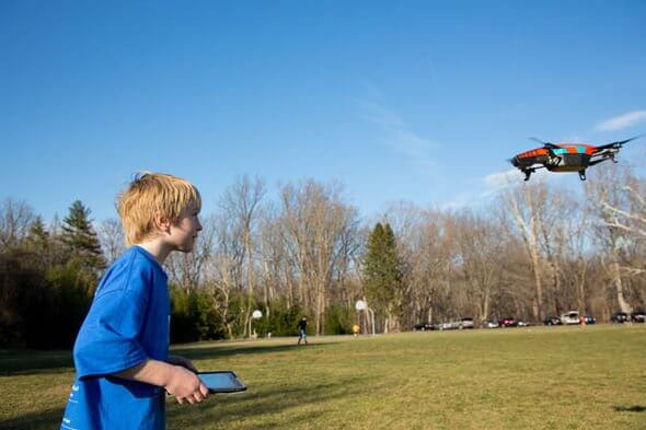 Child with Drone