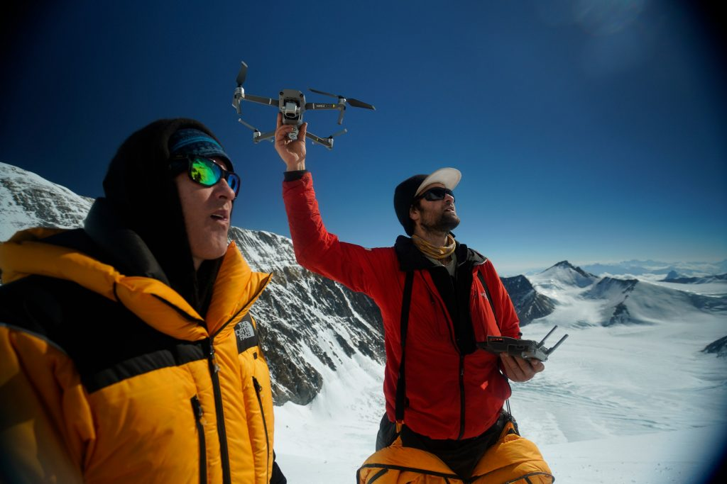 Two guys on mount everest