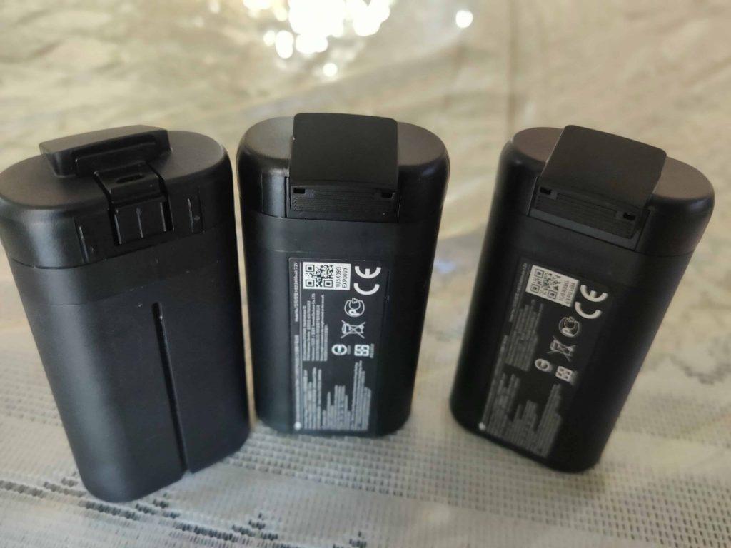 Three LiPo Batteries of DJI Mavic Mini