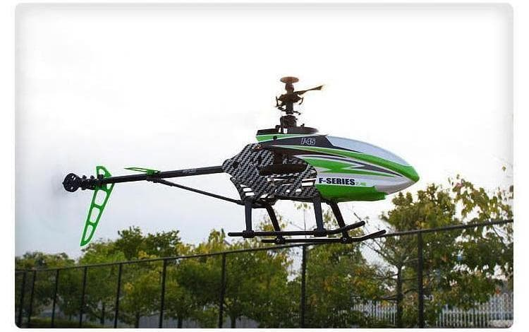 RC Helicopter flying.