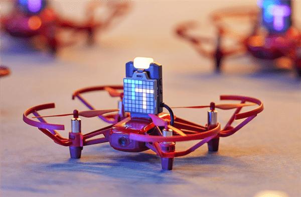 Red color DJI Robomaster TT Tello drone
