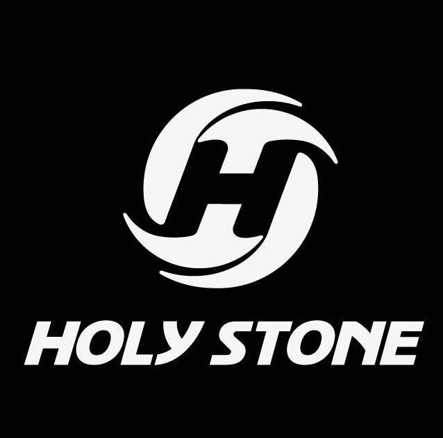 Holy Stone logo in black and white.