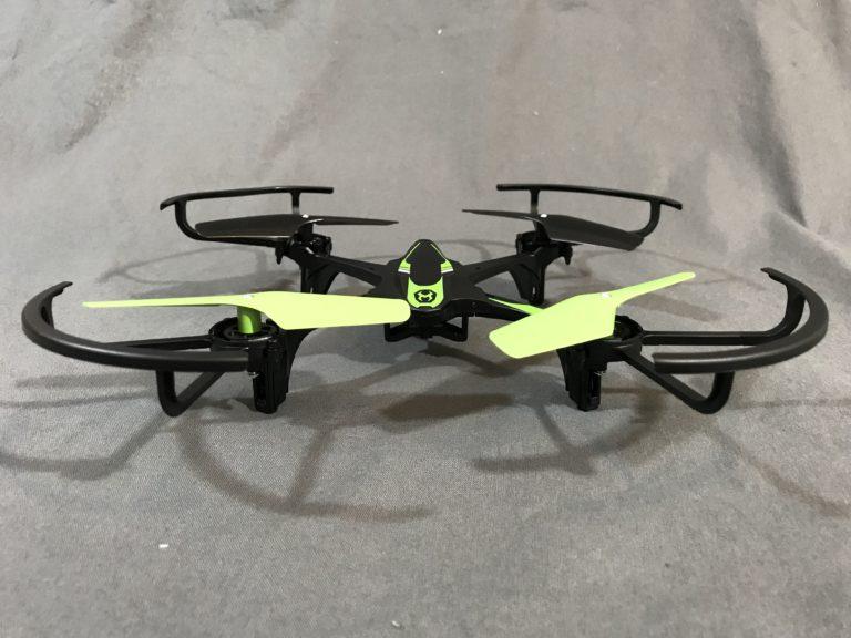 Sky Viper e1700 drone on the floor.