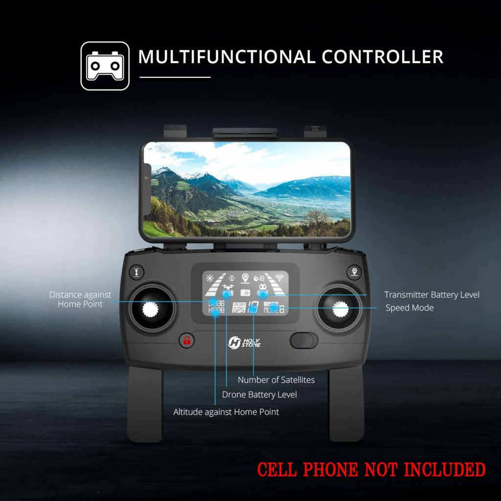 Image of Holy Stone HS270 Controller.