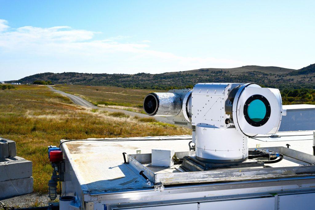 Athena laser system installed.